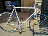Nice fixed gear bicycle with flip flop hub, origin 8 ,