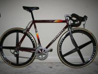 Beautiful French Peugeot Road Bike with Vintage and