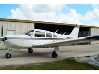 1975 Piper Arrow II, PA-28R-200, TT 5017,TT SMOH