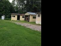 12x65 moble home. 1 bdrm 1 bath cabin. water well,