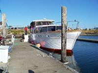 Please contact boat owner Marcia at 541-867-three seven