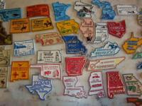 THERE ARE 50 ULTRA COLOR MAGNETIC US STATES FROM MY