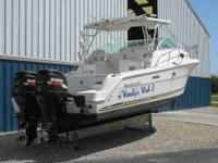 2001 Wellcraft 290 COASTAL Indoor stored 290 Coastal