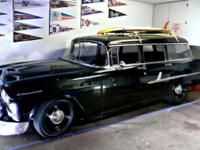 1955 Chevy 210 4 Dr Wagon Clean Title In Hand Daily