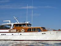 This splendid custom built classic cruising yacht is a