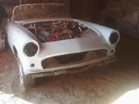 Have 1955 Ford Thunderbird complete car have top & all