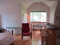 We have availabe a fully furnished studio apartment