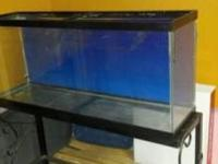 i have a 55 gallon aquarium.includes black wrought iron