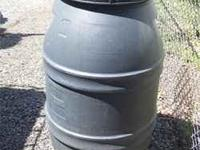 I have food grade plastic barrels for $15.00 each.