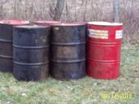 I have barrels that had oil in them.they are $6.00 each