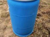 These 55 gallon Food Grade barrels are perfect for the