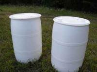 I have a several 55 gallon barrels for sale, these