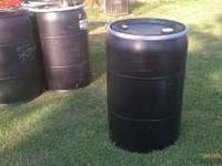 I have a couple of 55 gallon barrels with removable