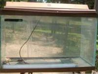 I'm selling a 55 gallon fish tank, no accessories, but