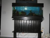 55 gallon fresh water tank with cabinet all complete