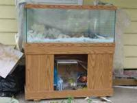 Nice fish tank with stand will update pictures soon.