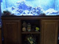 This is a 55 Gallon Aquairum with glass top, new