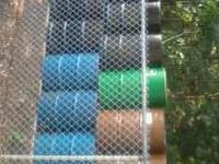 55 Gallon plastic Storage Drums $ 12 55Gallon Steel