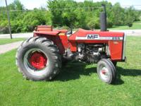 1976 Massey Ferguson Model 255, 55 HP Perkins diesel,