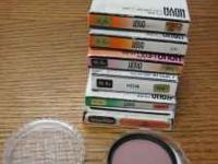 Various 55 mm lens filters. All in good shape. E-mail