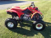 Excellent choice of previously owned ATV's in stock!!