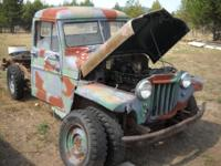 1955 Willys Jeep 4WD Pickup Truck (Flat Fender). 226