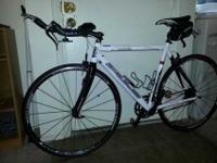 09 Fuji Roubaix Pro with Vision TT Bars. Purchased new