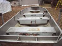 I have 1946 14 ft. alumacraft with tilt bed trailer, in