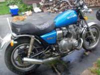 I AM SELLING MY 1980 GS 1000 L STREET BIKE THIS BIKE IS