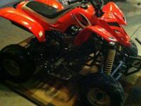 2007 Kazuma 150 quad. Great for kids or even a fun