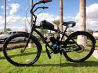 We are selling motorized bikes in beach cruisers and