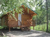 The Cabins are located on 30 forested acres and