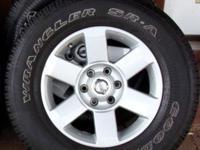 Nissan 04 - 11 TITAN and ARMADA Wheel & Tire Set 4