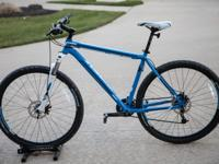 Trek Marlin this is a great trail bike. This Marlin has