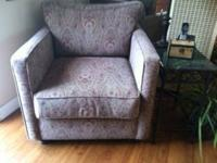 Beautiful custom made Couch and Chair & 1/2 with accent