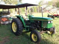 5500 John Deere,diesel,3 ph,dual rear remotes,power