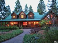 Dream Oregon Log Home Featured in Log Home Living