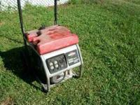2006 briggs & stratton 5550 watt gasoline powered