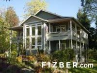 Amazing find in the South Puget Sound-- customized home