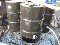 For Sale: 55 gallon steel drums. $10 each. Please email