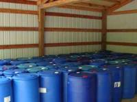 We have some 55 gallon food grade barrels available.