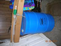 !!!!CASH ONLY!!!! $50 55 GALLON DRINKING WATER STORAGE