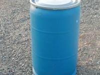 55 Gallon Food Grade Plastic Barrel with plastic lid