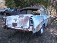 For Sale: 1956 Chevy 2dr Post, auto, Boxed frame,