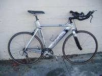 56cm Trek Equinox Tri Bike With Shimano Dura Ace,