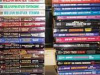 I have a huge lot of Star Trek Paperback novels - all