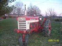 Selling a 560 Farmall tractor everything works and runs