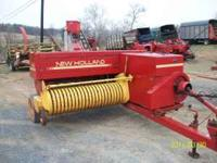 I have a very cleand shed kept NH 565 Baler with
