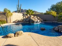 Poolside mountain views and high-quality upgrades are