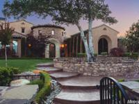 1 of a kind gated Mediterranean Villa,4.9 acres of